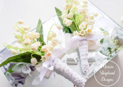 Lily of the Valley buttonholes