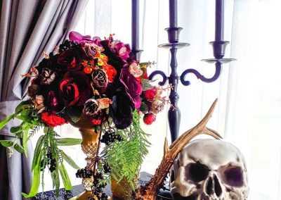 Gorgeous gothic styling by Marcia