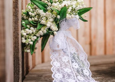 Pretty Lily of the valley bouquet created by Marcia and photo taken by the lovely Michelle Catullo from Michelle Ley Photography