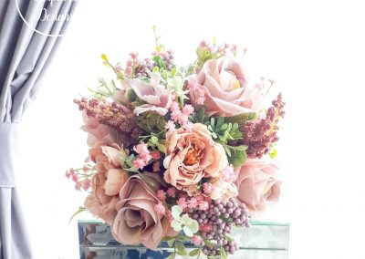 Gorgeous faux bouquets by Marcia